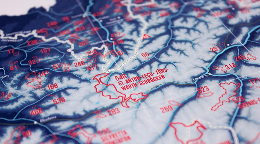 Skigebieden Alpen