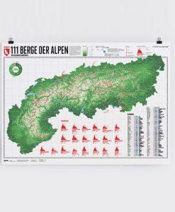 111 Bergen Wandelpaden, Trails Alpen