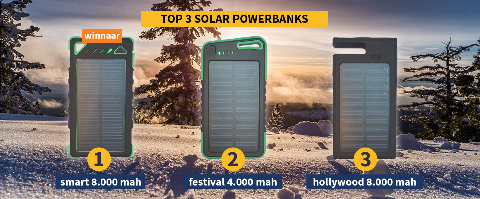Beste Solar Powerbank 2018