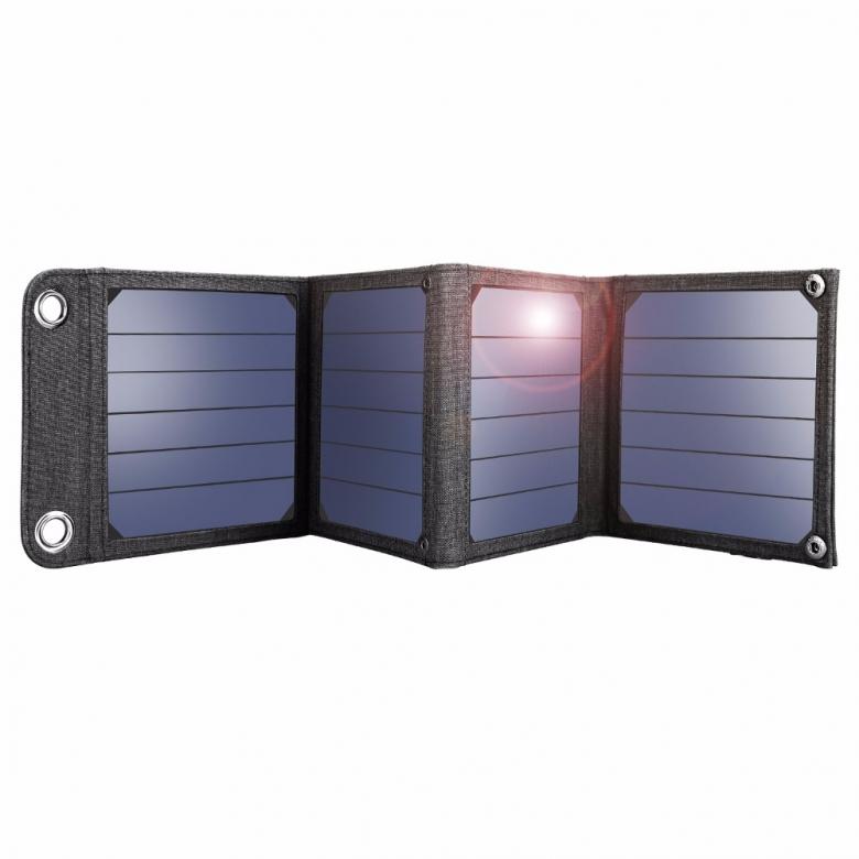 Suaoki-14W-Sun-Light-Solar-Cells-Charger-5V-2-1A-USB-Output-Devices-Portable-Solar-Panels